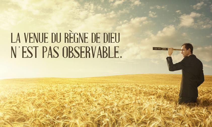 L'Evangile du 16/11/18 : « Le règne de Dieu est au milieu de vous » (Lc 17,  20-25)